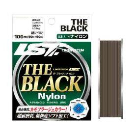 【LINE SYSTEM/システム】THE BLACK ナイロン 5/1.2(LB/号) L-3005-A 031568 ナイロン 平行巻 ライン 糸