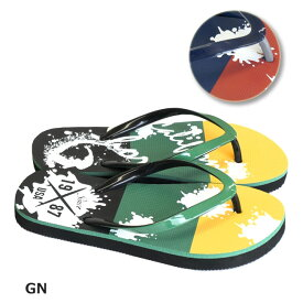 【Californiashore/カリフォルニアショア】キッズビーチサンダル 128-514 サンダル ビーサン 靴 ボーイズ 子供 CS128514 22 GN