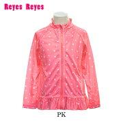 【ReyesReyes/レイズレイズ】ガールズラッシュジャケット126-853ラッシュガードUVウェアスイムウェアラッシュパーカー女の子キッズ126853