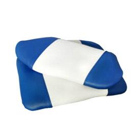 【BMO/ビーエムオー】フィッシャーマンシート クッションのみ ブルー/ホワイト MA702-21-1 BMO-MA702-21-1 ボート用クッション シート