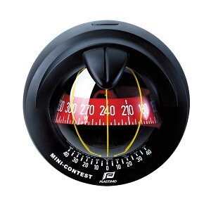 【PLASTIMO/プラスチモ】ミニコンテスト2 ブラック コンパス 航海計器 Q3R-KAZ-055-403