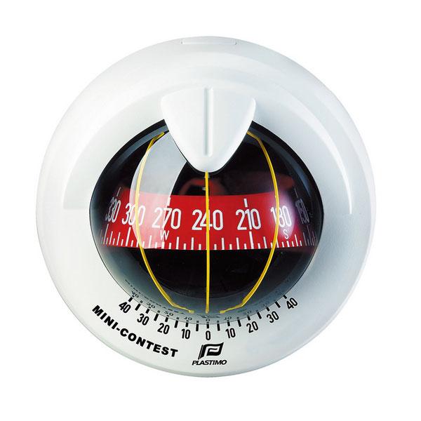 【PLASTIMO/プラスチモ】ミニコンテスト2 ホワイト コンパス 航海計器 Q3R-KAZ-055-406