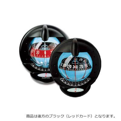 【PLASTIMO/プラスチモ】コンテスト101 ブラック(レッドカード) コンパス 航海計器 Q3R-KAZ-013-001