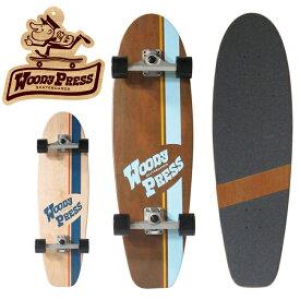 """【WOODYPRESS/ウッディプレス】WOODY32""""-Carving スケートボード ボード スケボー スポーツ"""