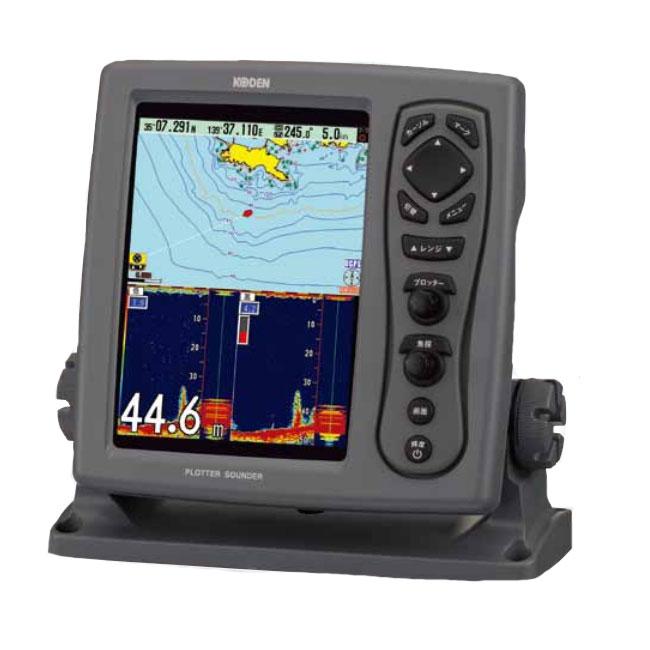 【KODEN/光電】8.4インチカラー液晶プロッター魚探(ブロードバンド型) CVG-87B&TDM-071(送受波器) プロッター 魚群探知機 魚探 航海計器