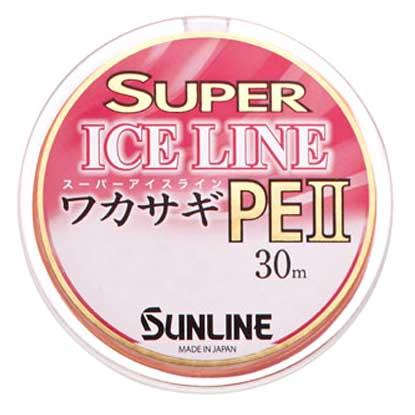 【SUNLINE/サンライン】SUPREICELINEワカサギPEII 30m ライン PEライン わかさぎ用 ワカサギ釣り
