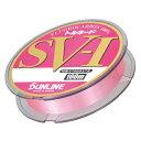【SUNLINE/サンライン】トルネードSV-I100 12号 100m 054893 ピンク ライン ハリス フロロカーボン 海釣り用