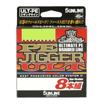 【SUNLINE/サンライン】ソルティメイトPEジガーULT8本組 300m 30LB 532940 PEライン ライン ジギング