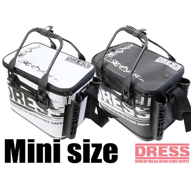 【DRESS/ドレス】オリジナルバッカン ミニ LD-OP-096 バッカン コンパクトタイプ 仕切りなし ロッドホルダー付き