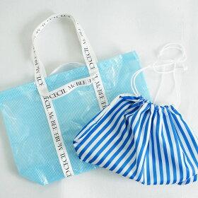 【CECILMcBEE/セシルマクビー】レディスPVCバッグ229-171巾着付きプールバッグ大人用マリングッズ