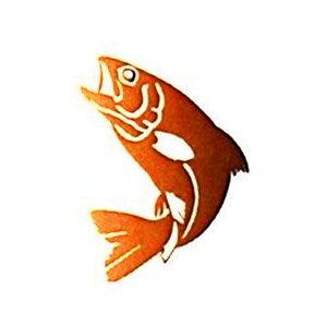 【MEIKOUSYA/明光社】ステッカー B-63 サクラマス BKR (021937) 桜鱒 シール MEIKOSHA-B-63-BKR 釣り デコ 魚