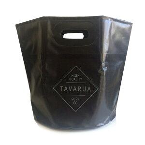 【TAVARUA/タバルア】ポータブルバケット 3018 防水バケツ ブラック 891781
