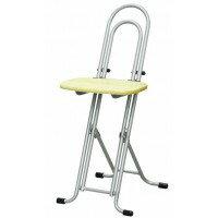 高さ調節 昇降 低姿勢 立ち仕事 中腰 作業 椅子 ナチュラル/シルバー 日本製 完成品 ( 折りたたみ 折り畳み 低い 低い椅子 チェア チェアー イス いす