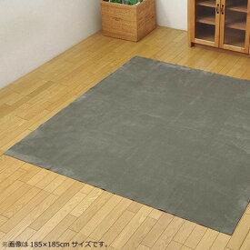 ラグ カーペット おしゃれ ラグマット 絨毯 北欧 ダイニングラグ マット 厚手 極厚 安い 洗える 床暖房 ホットカーペット対応 220×220 4畳半 グレー