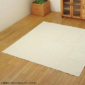 ラグ カーペット おしゃれ ラグマット 絨毯 北欧 マット 厚手 極厚 安い 洗える 床暖房 対応 ホットカーペット対応 220×320 6畳 アイボリー