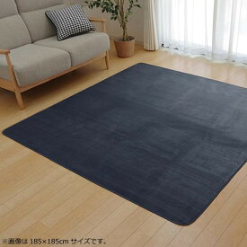 ラグ カーペット おしゃれ ラグマット 絨毯 北欧 マット 厚手 極厚 安い フランネル フランネルラグ 床暖房 床暖房対応 200×300 6畳 ブルー