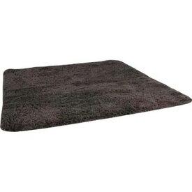 ラグ カーペット おしゃれ ラグマット 絨毯 北欧 安い 正方形 ブラウン 茶色 厚手 極厚 185×185 2畳半 3畳 ふわふわ ふかふか シャギーラグ あったか