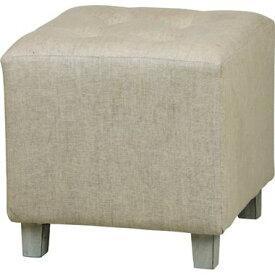 オットマン チェア スツール 足置き 椅子 コンパクト 小さめ ミニ おしゃれ 北欧 安い カフェ リビング 布 ファブリック ベージュ