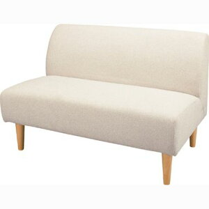 ソファー ソファ 2人掛け 二人掛け 2人用 二人用 コンパクト 小さめ ミニ おしゃれ 北欧 安い カフェ リビング ダイニングベンチ 椅子 背もたれ 布 ファブリック ホワイト 白