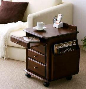サイドテーブル デスクワゴン 本立て キャスター コンセント 木製 脇机 袖机 サイドデスク ワゴン a4 デスク 書類ワゴン キャビネット 収納 オフィスワゴン ( サイドテーブル幅40 )
