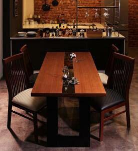ダイニングテーブルセット 4人用 椅子 おしゃれ 安い 北欧 食卓 5点 ( 机+チェア4脚 ) 幅150 デザイナーズ クール スタイリッシュ ミッドセンチュリー 2本脚 和モダン ファミレス風 ガラス
