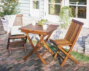 ガーデンテーブル + ガーデンチェア 椅子 セット 屋外 カフェ テラス ガーデン 庭 ベランダ バルコニー アジアン( 3点(テーブル+チェア2脚)テーブル正方形 チェア肘無幅70 )
