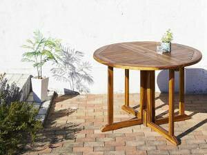ガーデンテーブル 丸 丸型 丸テーブル 円形 ラウンド おしゃれ 格安 屋外 カフェ テラス ガーデン 庭 ベランダ バルコニー アジアン( テーブル 幅110 高さ75 ) 2人用 4人用 コンパクト 小さめ ワ