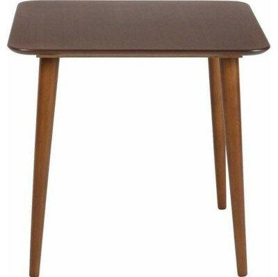 ダイニングテーブル 75x75 ダークブラウン 茶色 【 食卓 北欧 リビング 送料無料 ポイント 】
