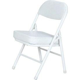 パイプ椅子 折りたたみ椅子 折り畳み椅子 イス 椅子 チェア おしゃれ 安い コンパクト ミニ ホワイト 白 低い椅子 低い 背もたれ 背もたれ付き ロータイプ