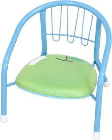 ブルー 青 ベビーチェア 子供椅子 キッズチェア 子供 ジュニア いす コンパクト 食事 お絵かき ポップ かわいい