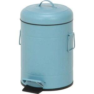ブルー青ゴミ箱ごみ箱ダストボックス汚物入れごみばこ北欧おしゃれ