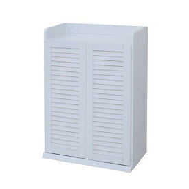 下駄箱 シューズラック シューズボックス 靴箱 オフィス おしゃれ 北欧 収納 安い 薄型 スリム 約 幅60 カビ対策 通気性 木製 コンパクト 小さい 一人暮らし ホワイト ルーバー ロータイプ 扉