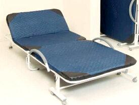 リクライニングベッド 折りたたみベッド ベッド シングル ベット ベッドフレーム 一人暮らし 折り畳み 収納 簡易ベッド 安い 軽量 パイプ 手すり キャスター付き 布団干し オフィス コンパクト 昼寝 仮眠