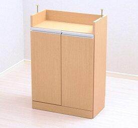 食器棚 おしゃれ 北欧 安い キッチン 収納 棚 ラック 木製 レンジ台 ロータイプ コンパクト ミニ 調味料 小型 小さいサイズ 一人暮らし 大容量 約 幅60 スリム 薄型 奥行30 白 カウンター