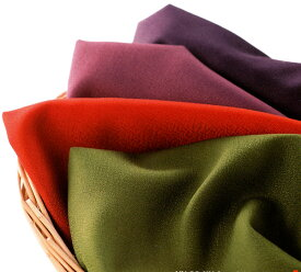 好きな色を選べる5色 さざら織無地ふろしき 二巾 送料無料 風呂敷 着物 手ぬぐい【smtb-k】【ky】