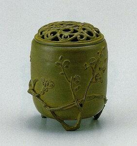 送料無料 香炉 伝芳文 名取川 雅司 床の間 置物 仏具 銅 ブロンズ