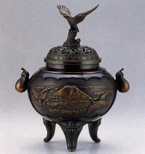 送料無料 香炉 夢 床の間 置物 仏具 銅 ブロンズ