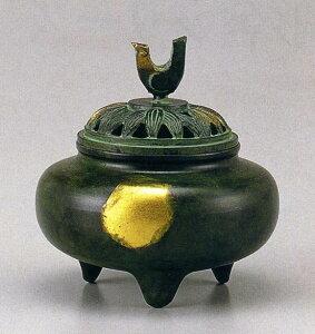 送料無料 香炉 珠玉型 床の間 置物 仏具 銅 ブロンズ