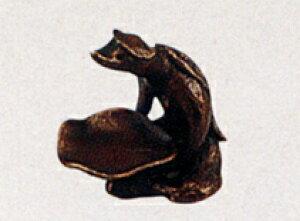 香炉 香立 河童 床の間 置物 仏具 銅 ブロンズ
