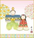 特色工芸色紙 桃の節句 節句色紙 人形雛 色紙