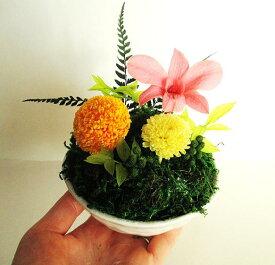 父の日 花 プリザーブドフラワー 和風 ギフト コケ玉 苔玉 盆栽 プレゼント 誕生日 送別 退職祝 フラワーギフト お供え 花 和 人気 送別の花 還暦祝い 喜寿 米寿 新築祝い 結婚記念 記念日