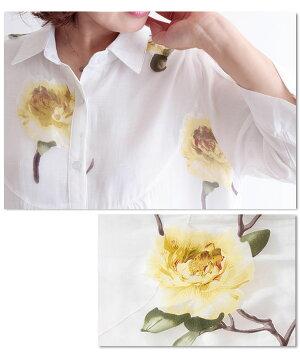ゆったりライントップシャツ【6月21日22時販売新作】