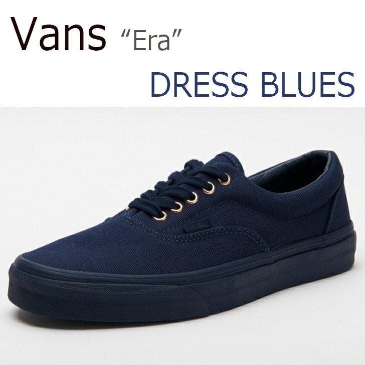 【送料無料】Vans Era/Dress Blues【バンズ】【エラ】【ブルー】【VN-03Z5HDH】 シューズ