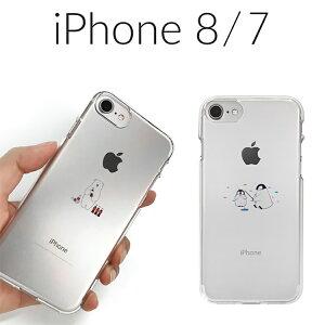 iPhoneSE ケース iPhone SE2 ケース iPhone8 ケース iPhone7 ケース Dparks ソフトクリアケース ミニ動物(ディーパークス) アイフォン8 アイフォン7 4.7インチ お取り寄せ