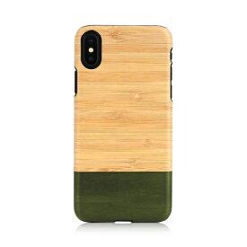 iPhone XS Max ケース天然木 Man&Wood Bamboo Forest(マンアンドウッド バンブーフォレスト)アイフォン カバー 木製 竹素材 お取り寄せ