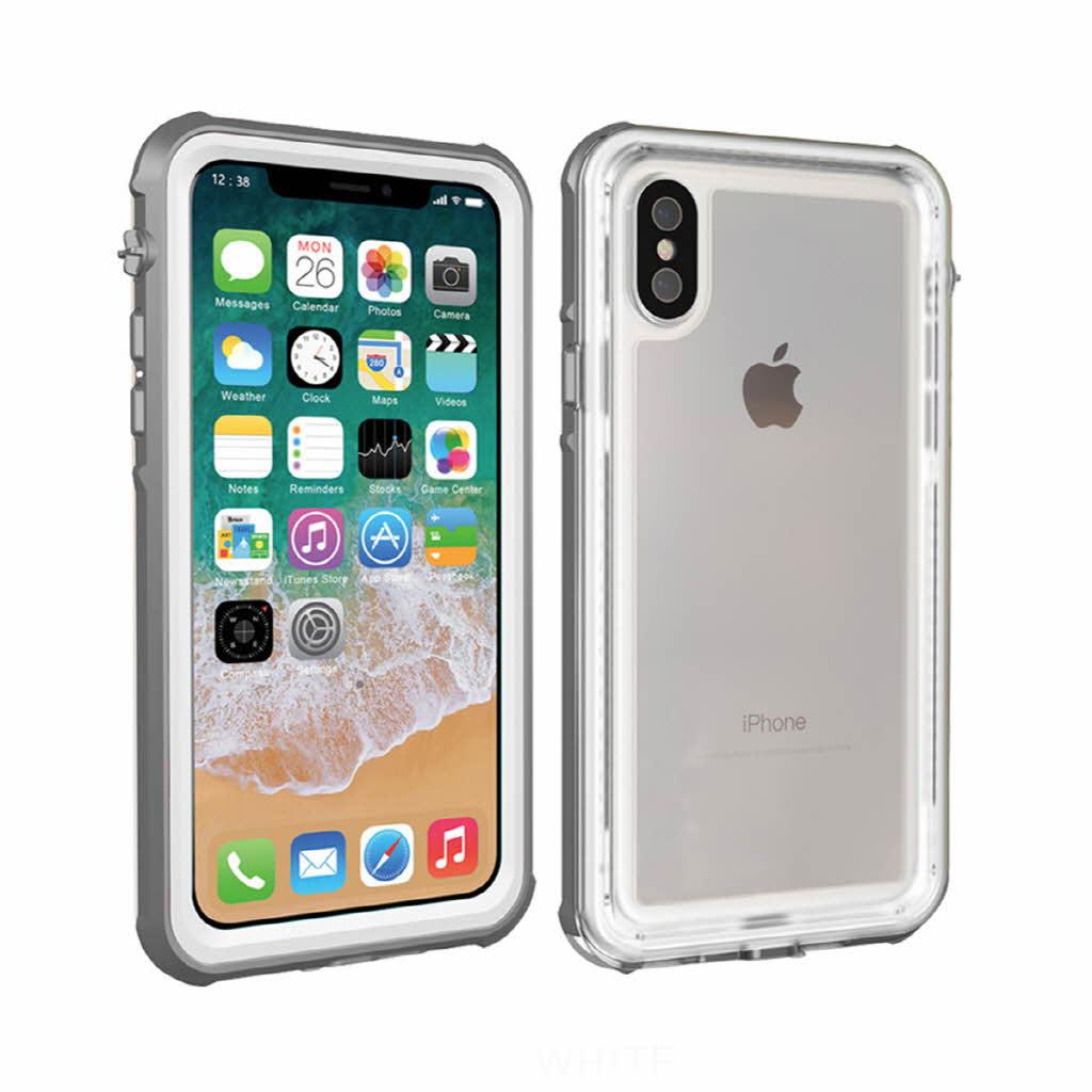 iPhoneX 防水ケース 360度フルカバー IP68 WATERPROOF TOUGH CASE ウォータープルーフ タッチ可能 スマホケース お取り寄せ