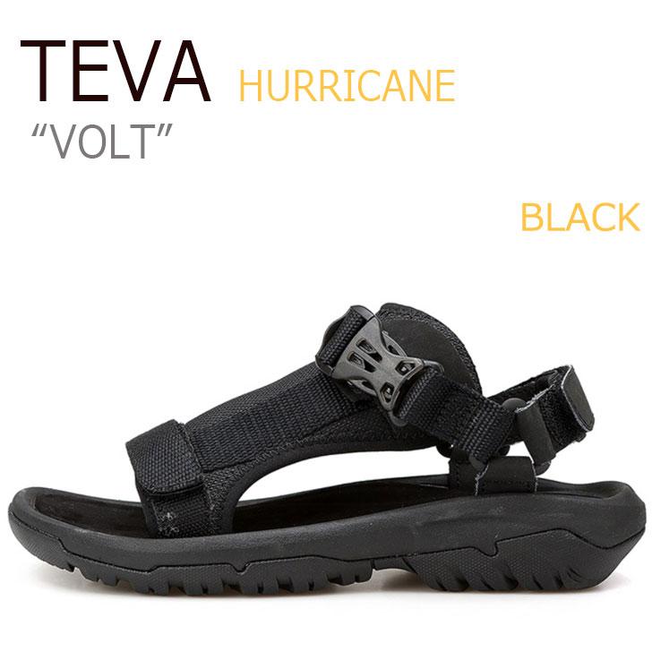テバ サンダル TEVA レディース HURRICANE VOLT ハリケーン ボルト BLACK ブラック 1015225-BLK シューズ