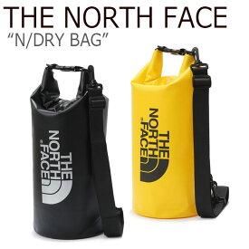 ノースフェイス ショルダーバッグ THE NORTH FACE メンズ レディース N/DRY BAG Nドライバッグ BLACK YELLOW ブラック イエロー NN2PK11J/K バッグ 【中古】未使用品