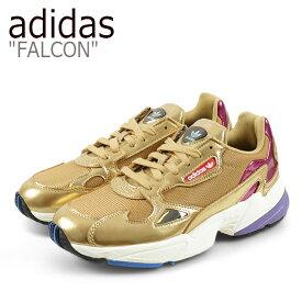アディダス ファルコン スニーカー adidas メンズ レディース FALCON ダッドシューズ GOLD ゴールド CG6247 シューズ 【中古】未使用品