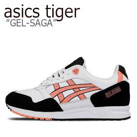 アシックスタイガー スニーカー asics tiger メンズ GEL-SAGA ゲルサーガ WHITE ホワイト1191A169 シューズ